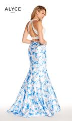 60178B Light Blue Print back