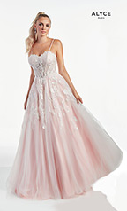 60895 Diamond White/Blush front