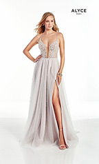 60902 Diamond White/Cashmere Rose front