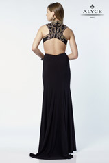 6720 Black/Nude back