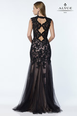 6753 Black/Nude back