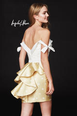 82028 Ivory/Yellow Polka back