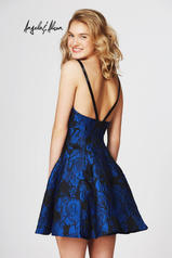 82055 Royal Blue Floral back