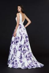 91019 Ivory/Purple back