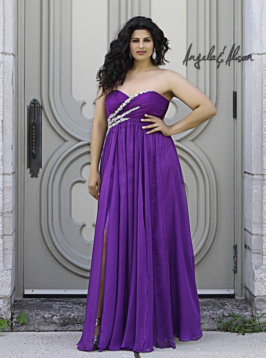 Angela and Alison Plus Size Prom