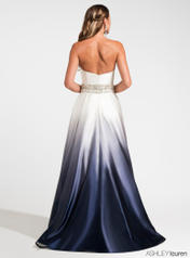 1129 Navy Ombre back