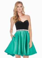 4078 Black/Emerald front