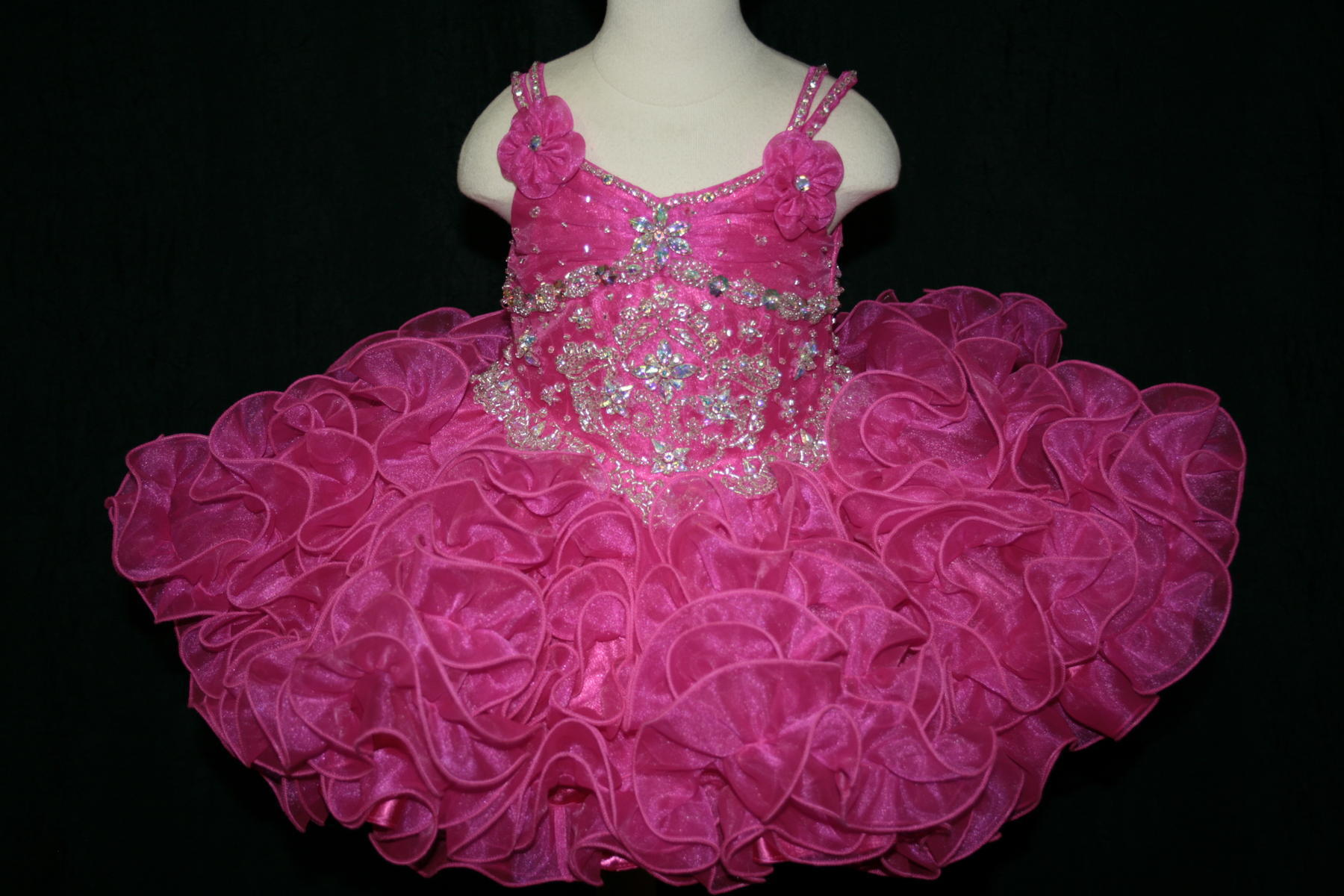 Little Rosie Baby Girls Pageant BR1074