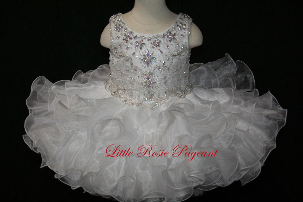 Little Rosie Baby Girls Pageant BR1105