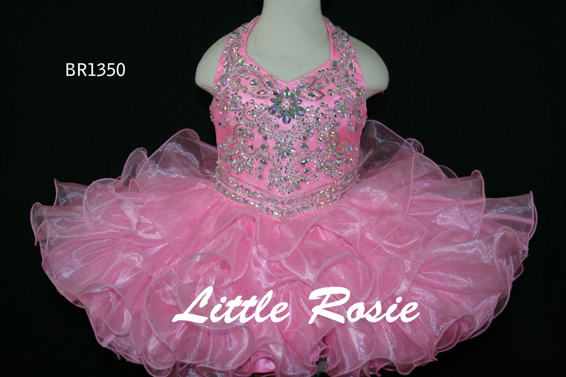 Little Rosie Baby Girls Pageant BR1350