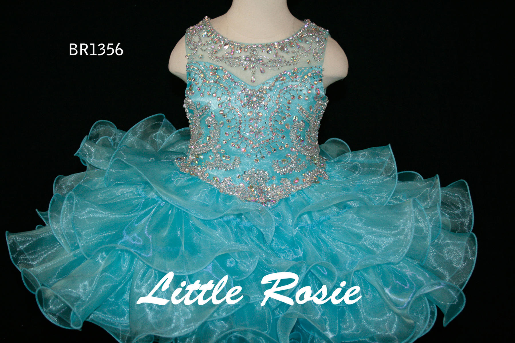 Little Rosie Baby Girls Pageant BR1356