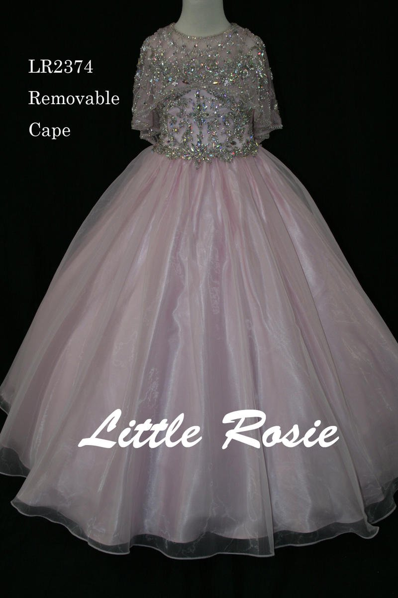 Little Rosie Girls Glitz Long Pageant LR2374