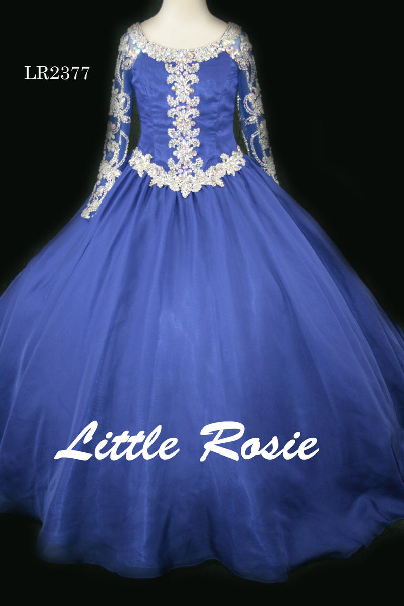 Little Rosie Girls Glitz Long Pageant LR2377