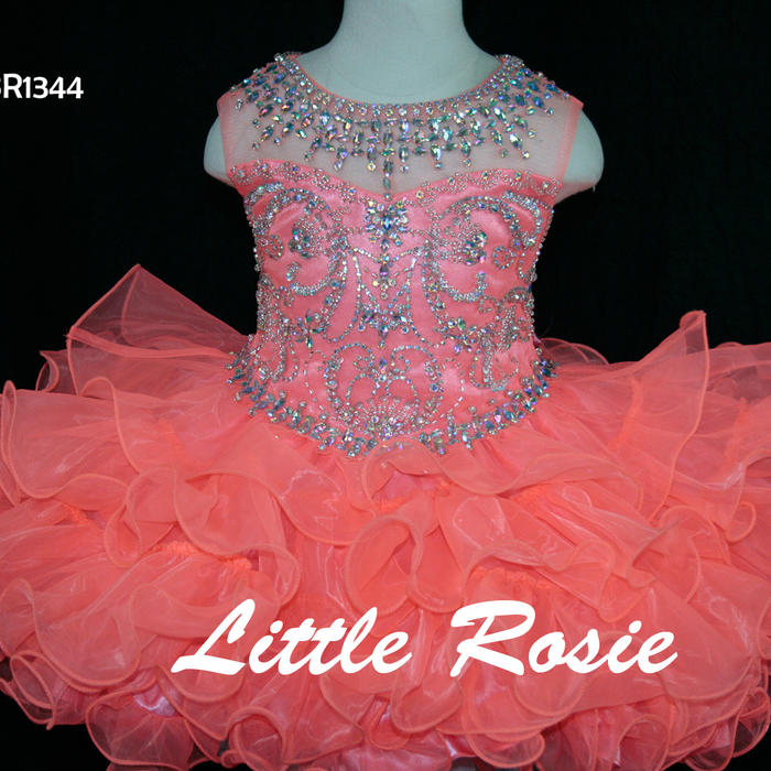 Little Rosie Baby Girls Pageant Dress