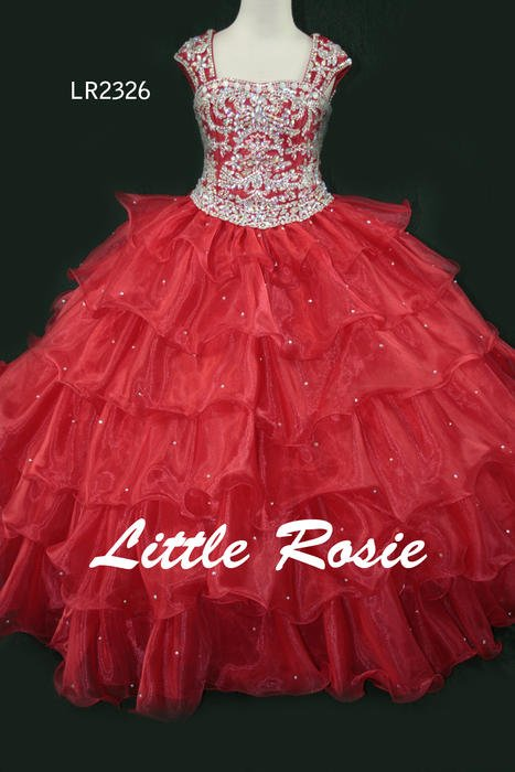 Little Rosie Girls Glitz Pageant Dress