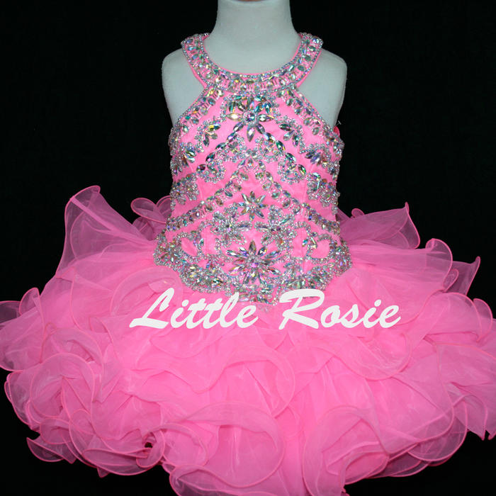 Little Rosie Pageant Dresses-Short Skirt