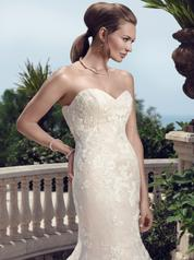 2142 Champagne/Ivory/Diamond White Lace detail