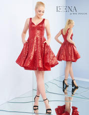 48478I Chilli Red Sequin front