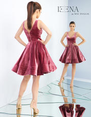 48478I Deep Rose Velvet back