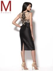 62284R Black/Nude back