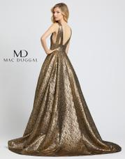66217D Antique Gold back