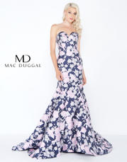 66442A Midnight Floral front