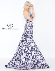 66442A Midnight Floral back