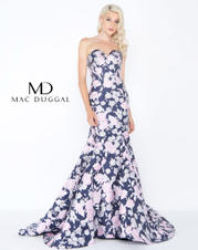 66442M Midnight Floral front