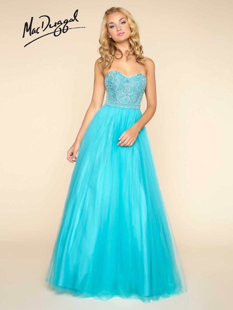 Ball Gowns by Mac Duggal 40579H