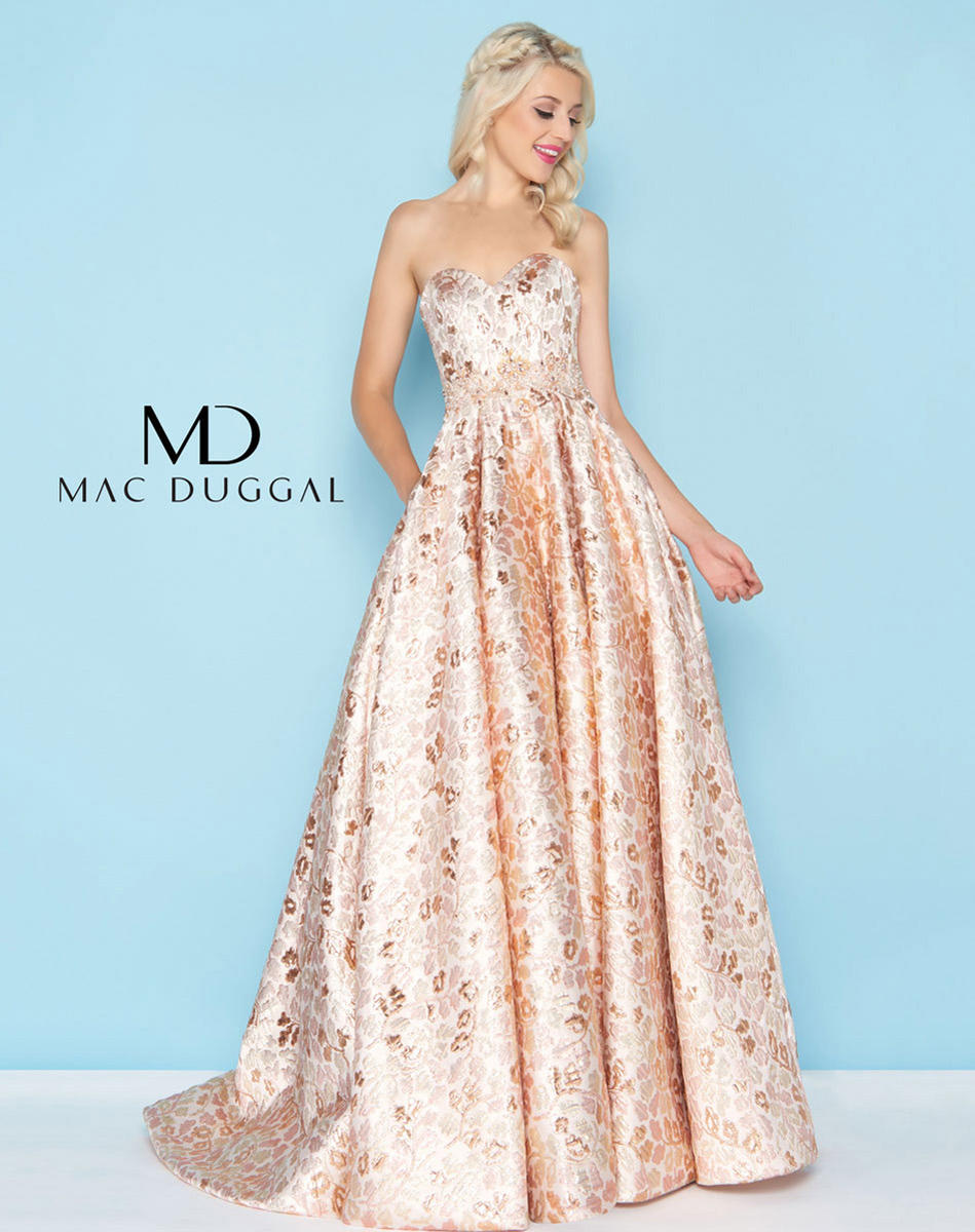 Ball Gowns by Mac Duggal 40751H Chique Prom, Raleigh NC 27616, Prom ...