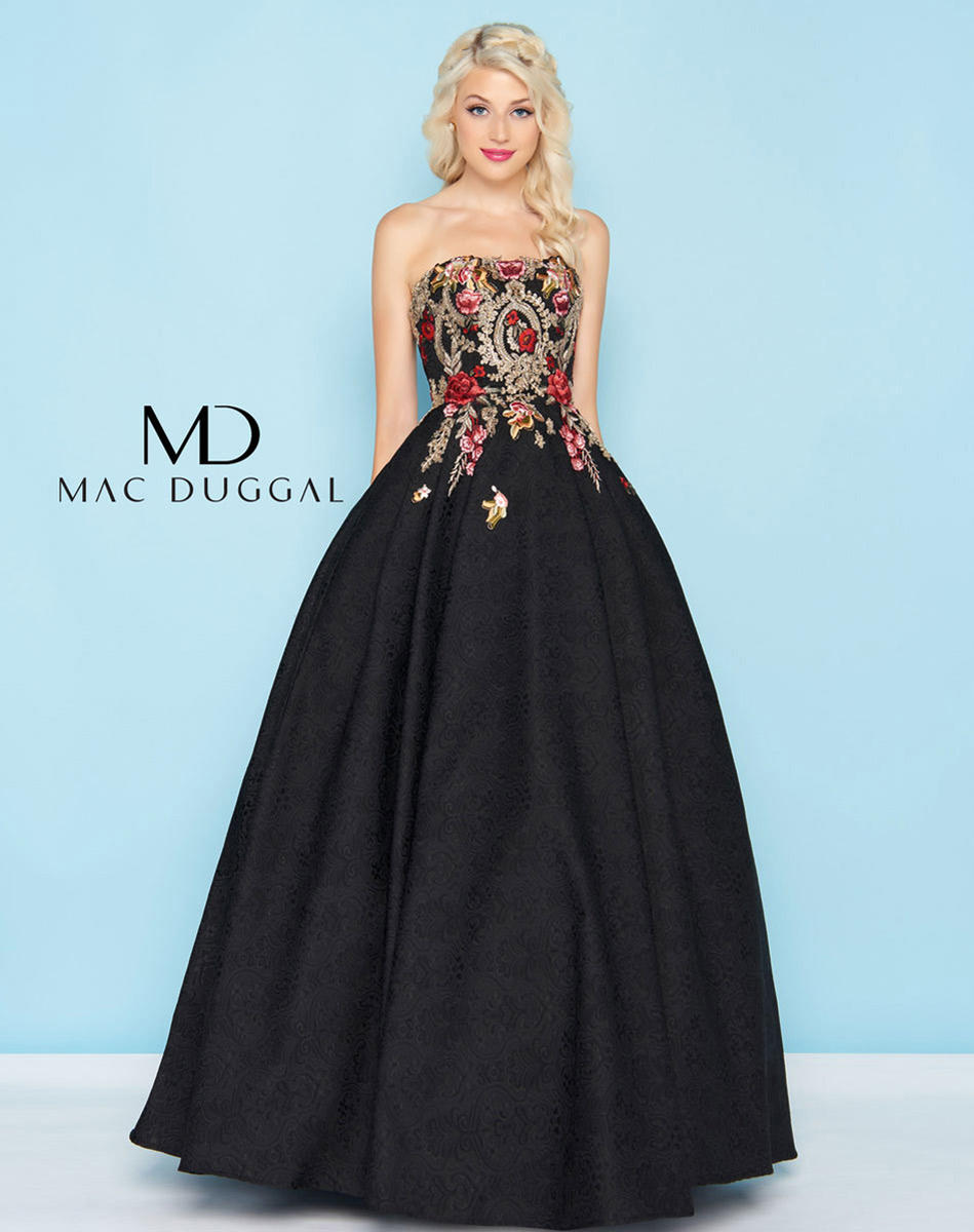 Ball Gowns by Mac Duggal 40815H Mac Duggal Ball Gowns Hannah\'s ...