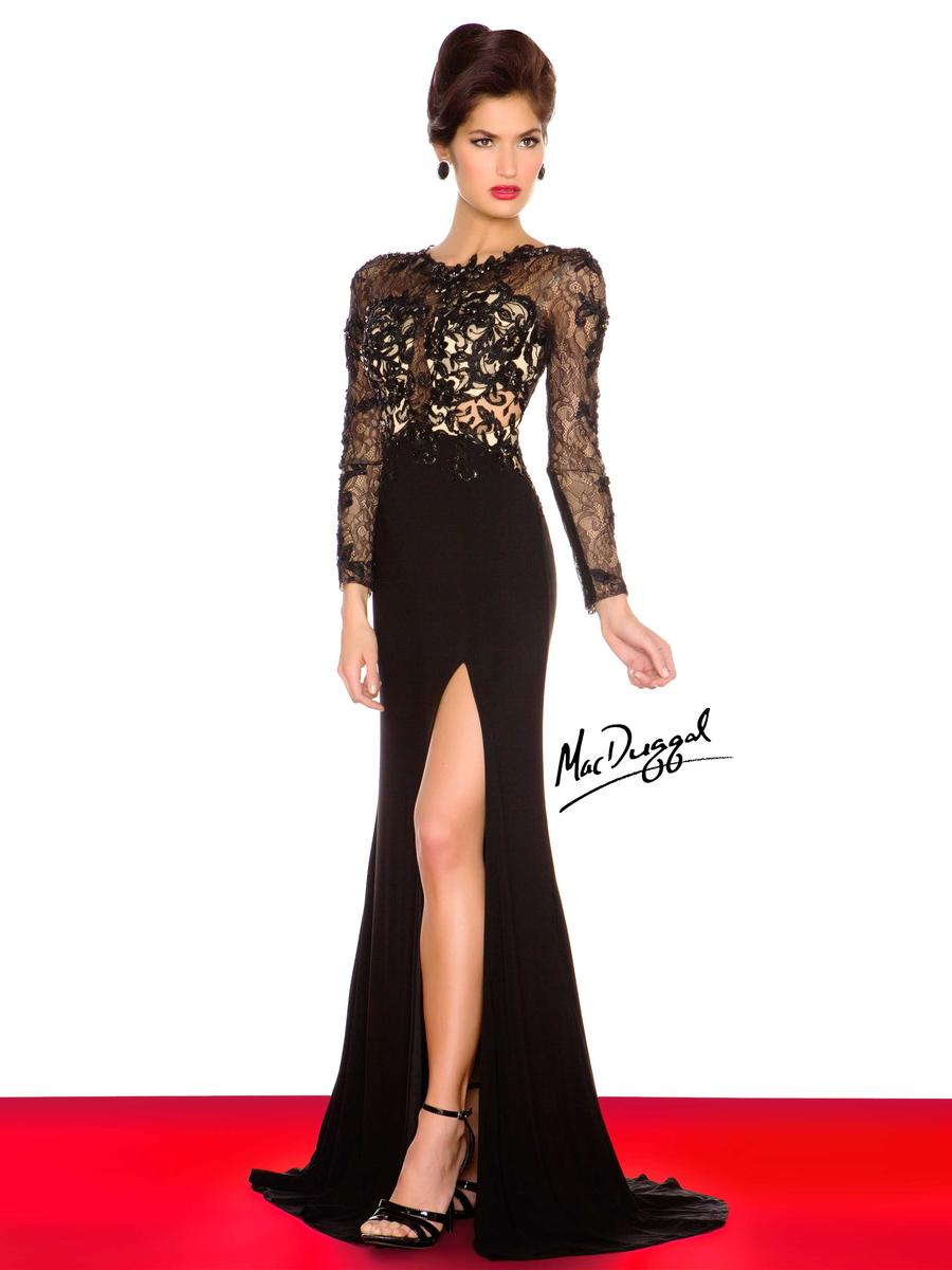 Black White Red by Mac Duggal 61409R Mac Duggal Black White Red Pure ...