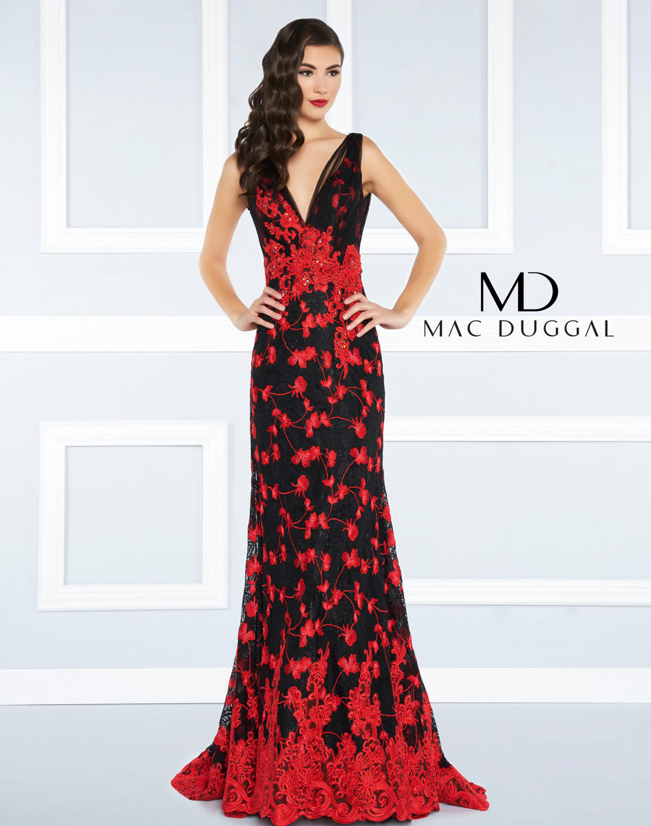 Black White Red by Mac Duggal 62871R