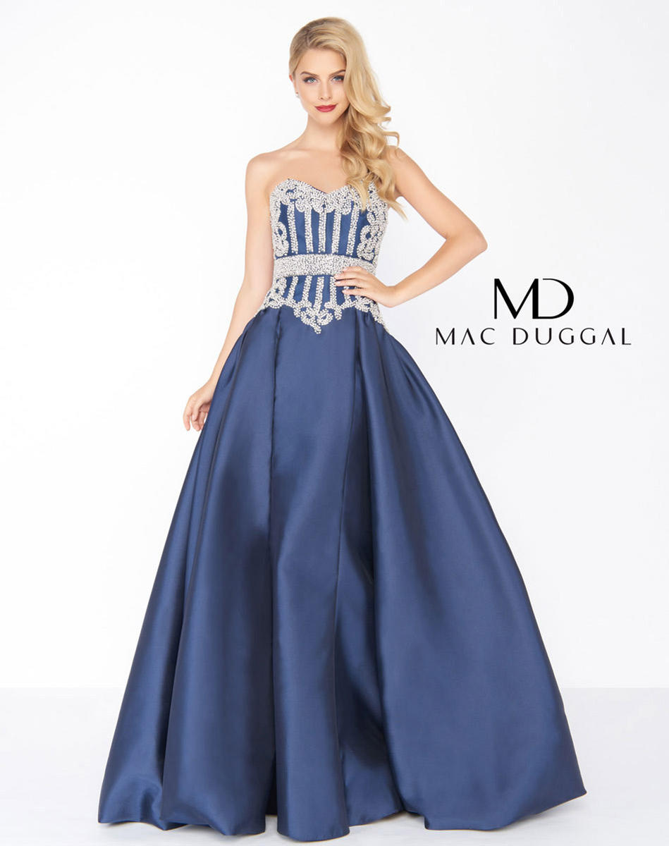 Black White Red by Mac Duggal 62894R Mac Duggal Black White Red Prom ...
