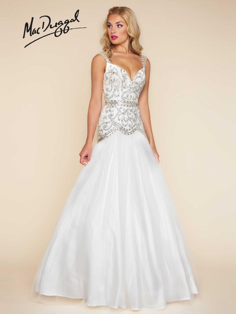 35878ad9587 Mac Duggal Ball Gown - Kimberly s Prom and Bridal Boutique ...