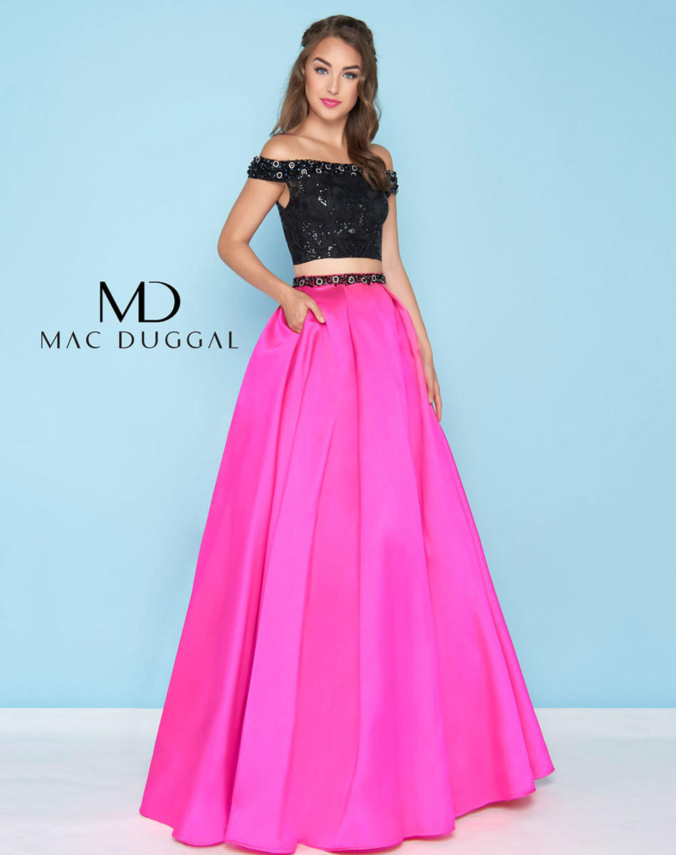 Ball Gowns by Mac Duggal 66316H
