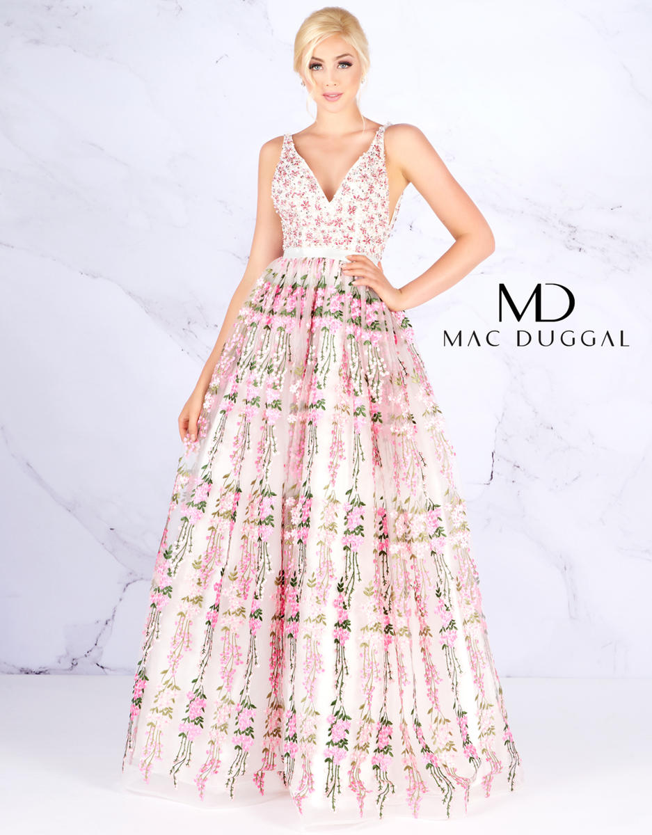 e04240e7b4 Prom Designers Ball Gowns by Mac Duggal 66319H KOTSOVOS