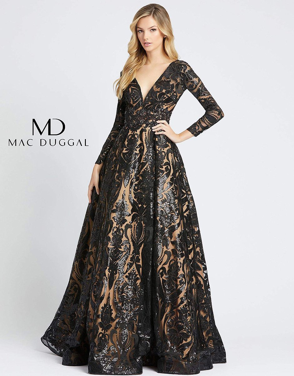 Ball Gowns by Mac Duggal 66334H