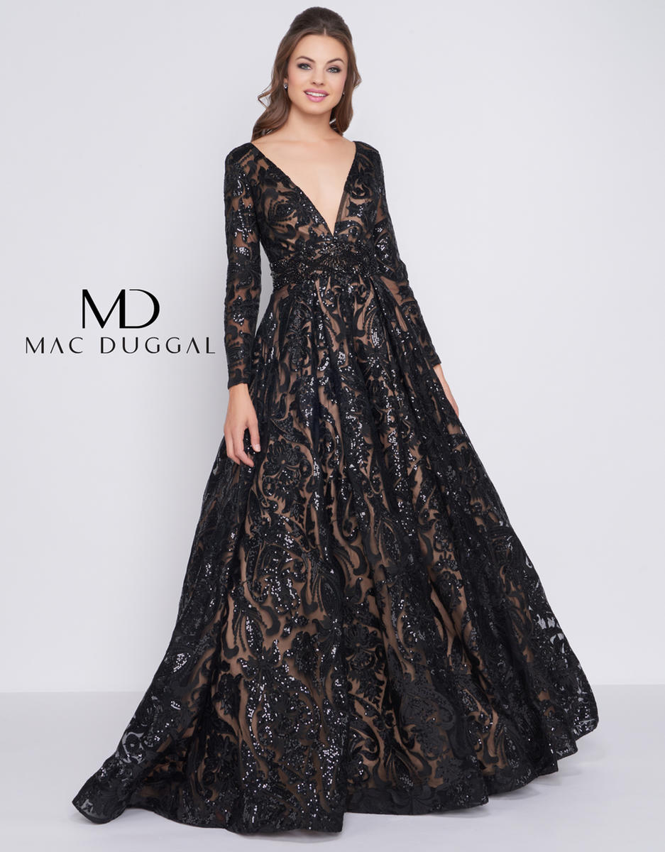 fc5a9919ca0 MAC DUGGAL PROM Ball Gowns by Mac Duggal 66334H Diane   Co- Prom ...