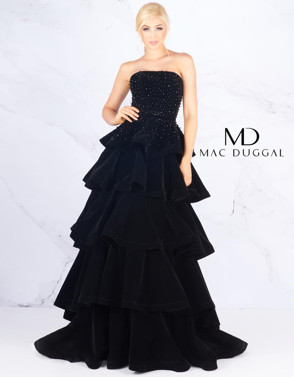 Ball Gowns by Mac Duggal 66344H