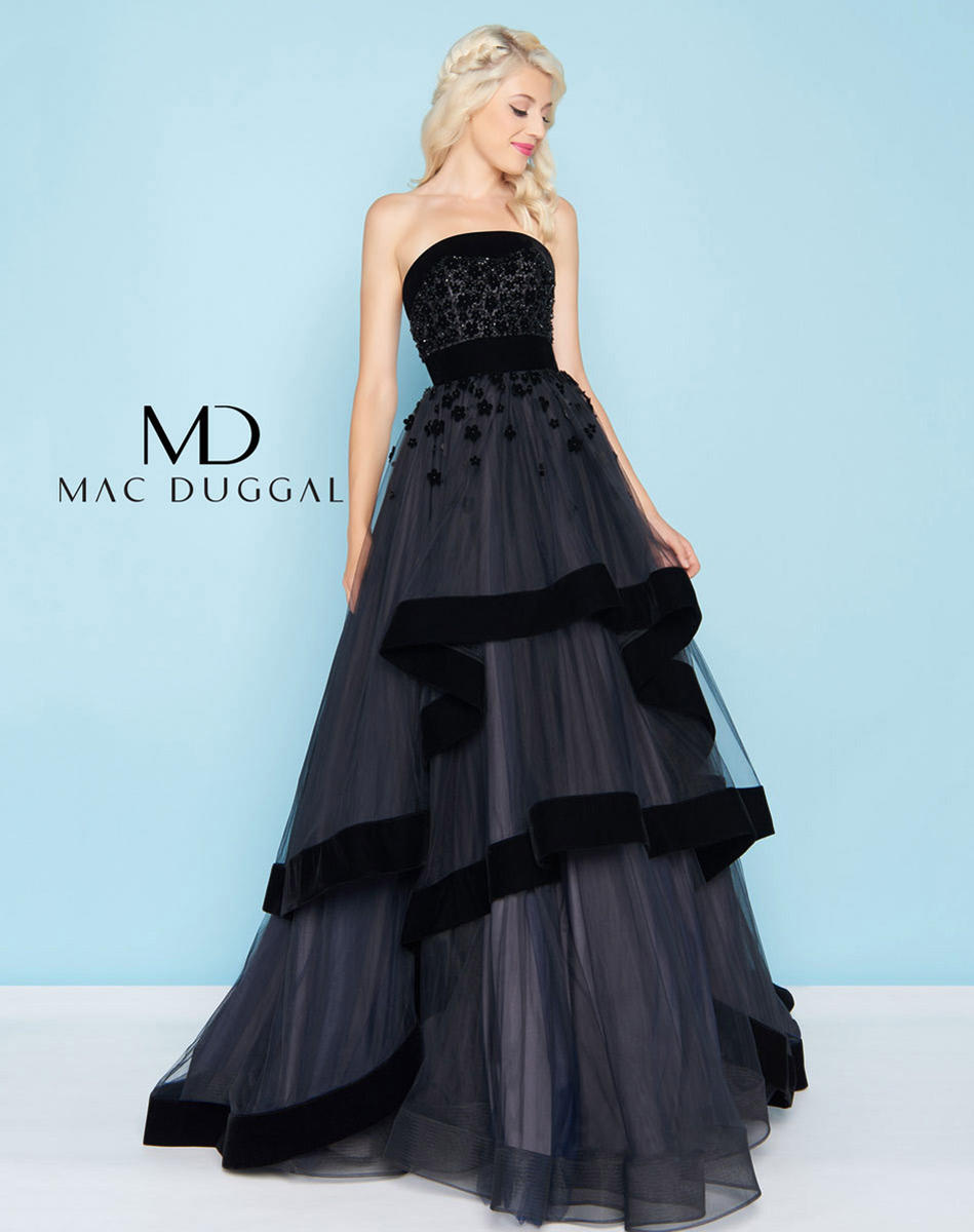 Ball Gowns by Mac Duggal 66346H Mac Duggal Ball Gowns Simply Jane ...
