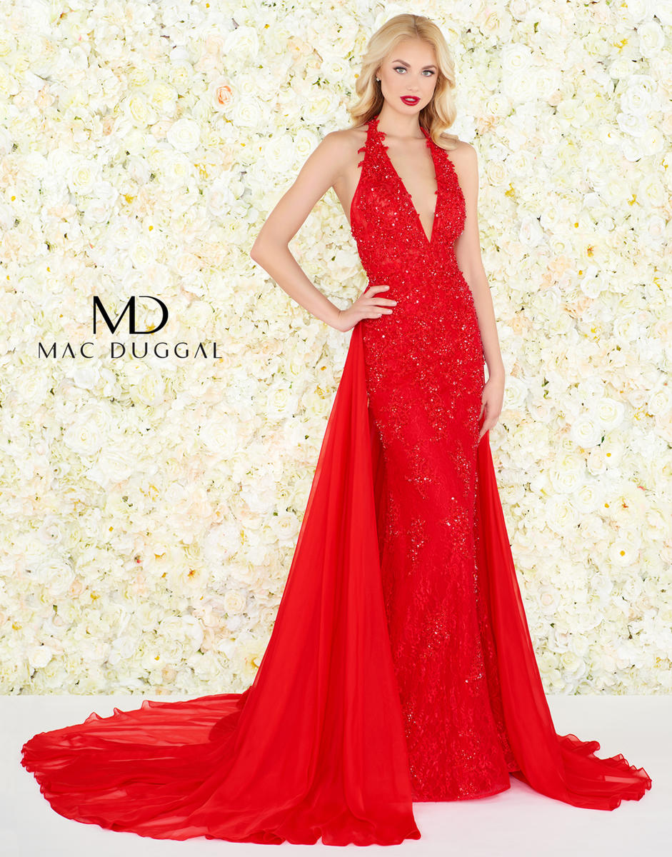 Black White Red by Mac Duggal 66573R