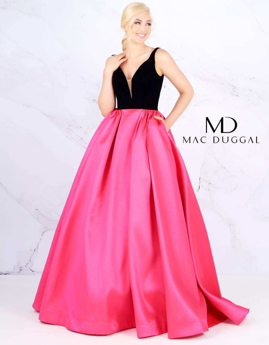 Ball Gowns by Mac Duggal 66720H