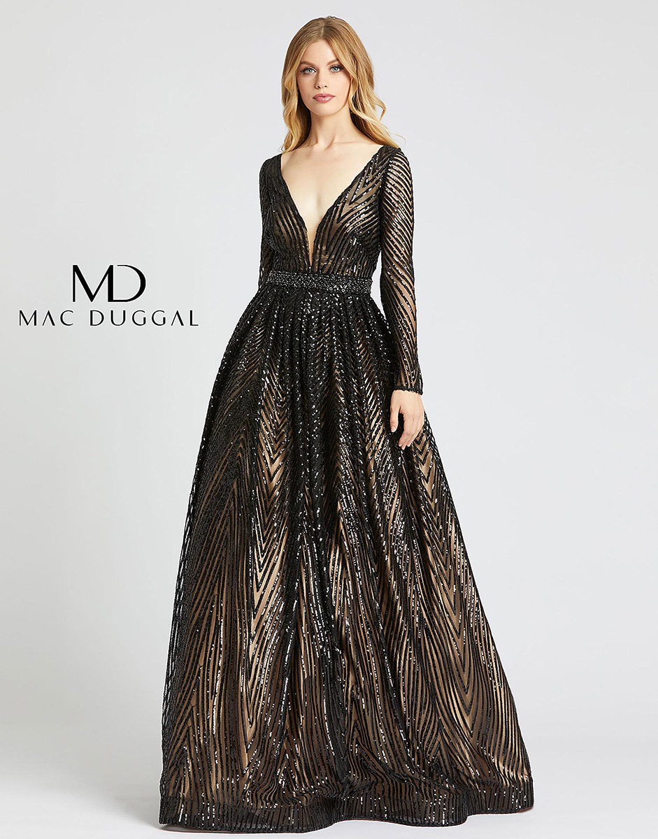 Ball Gowns by Mac Duggal 67103H