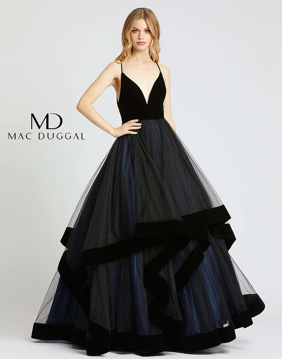 Ball Gowns by Mac Duggal 67106H