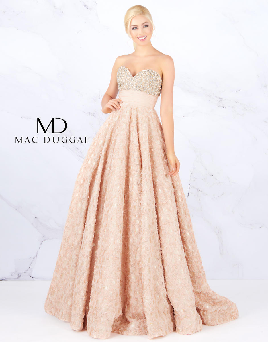 035838234d Prom Designers Ball Gowns by Mac Duggal 67695H KOTSOVOS