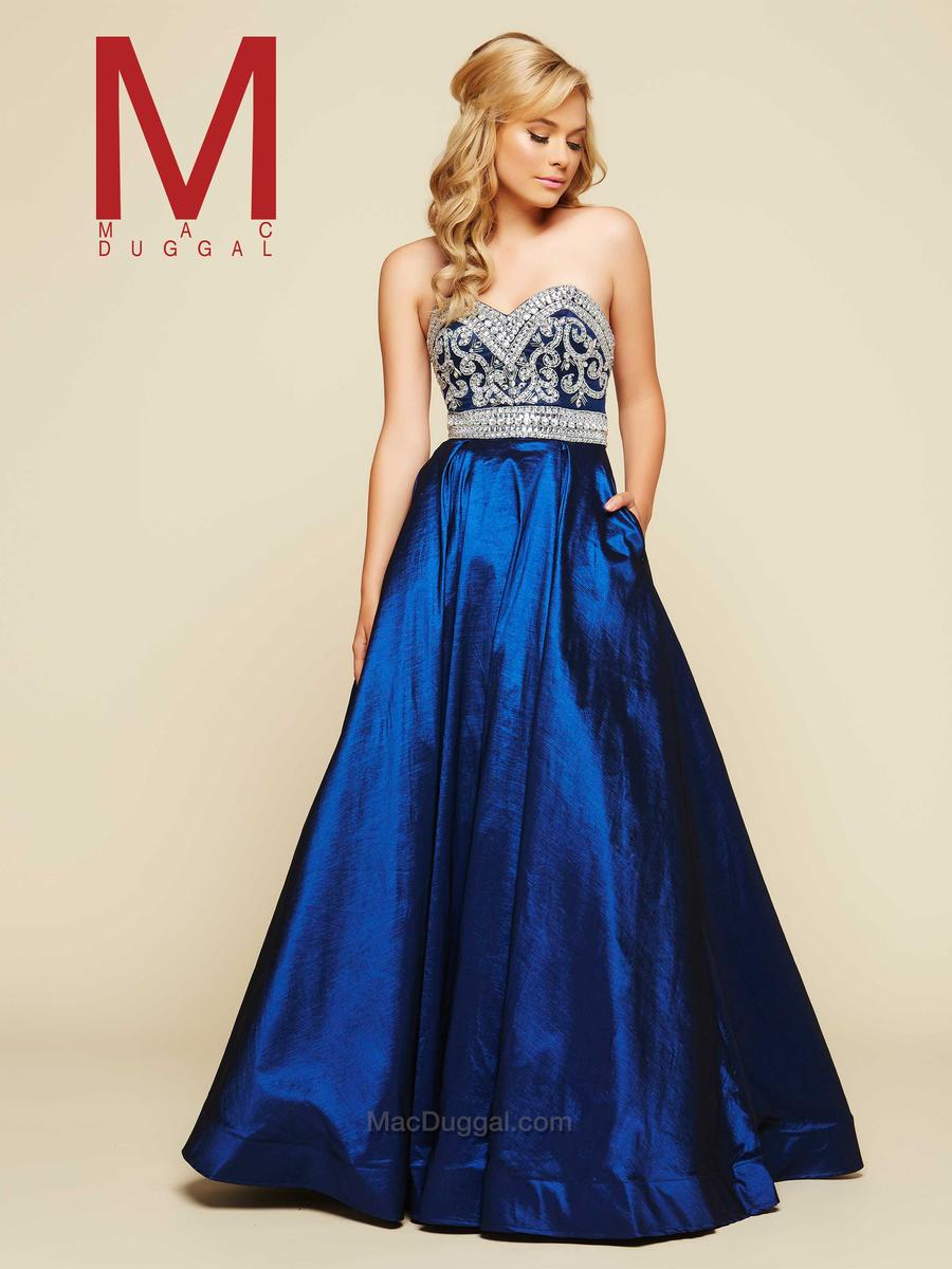 Ball Gowns by Mac Duggal 76965H