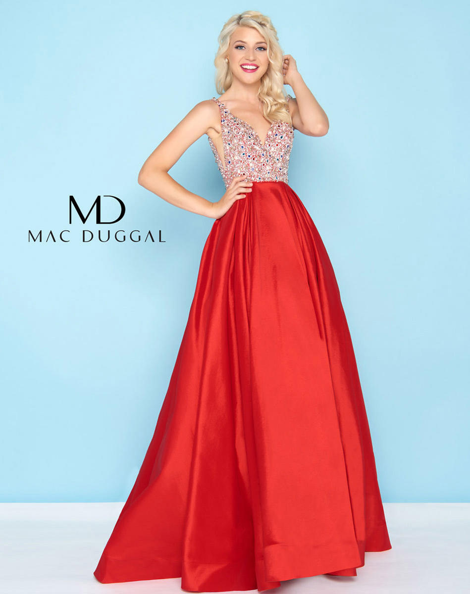 Ball Gowns by Mac Duggal 77338H