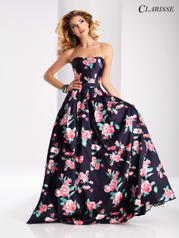 3029 Navy/Print front