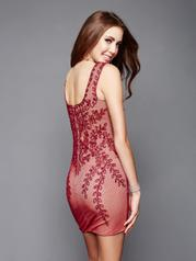 3323 Red/Nude back